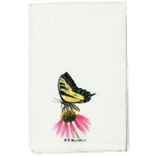 Tiger Swallowtail Butterfly Guest Towel Set of 2