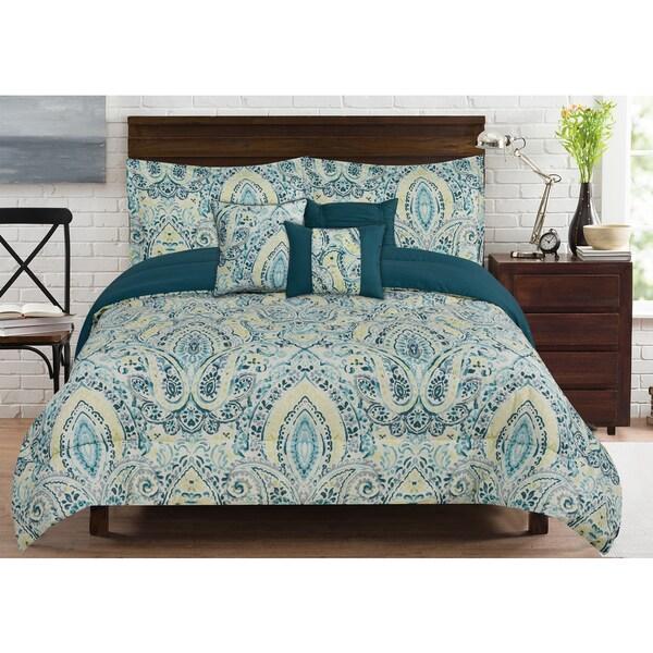 RT Designers Collection Bridgetown 6-Piece Comforter Set