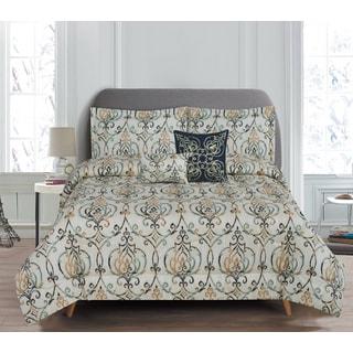 RT Designers Collection Butler 5-Piece Reversible Comforter Set