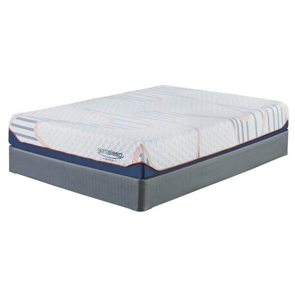 shop sierra sleep by ashley mygel 10 inch full size gel memory foam mattress free shipping. Black Bedroom Furniture Sets. Home Design Ideas