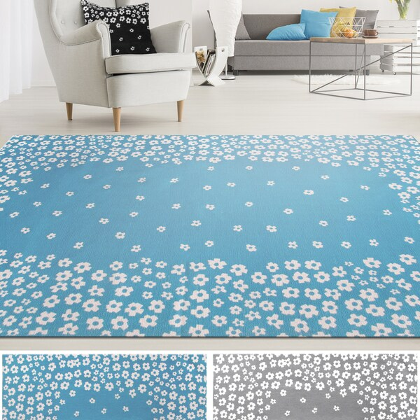 Shop Miranda Haus Wildflower 100 Cotton Printed Area Rug