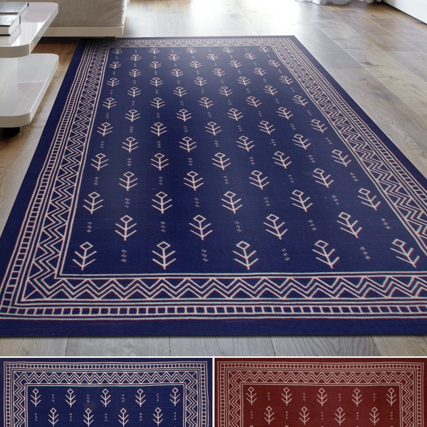 Shop Miranda Haus Royal Club 100 Cotton Printed Area Rug