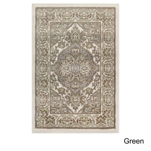 Green 5 x 8 Superior Elegant Glendale Collection Area Rug