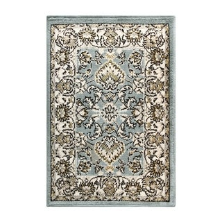 Superior Elegant Lille Grey Area Rug (2' X 3')