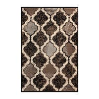 Superior Modern Viking Area Rug (2' X 3')