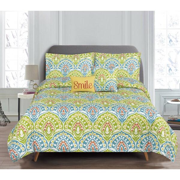 RT Designers Collection Dakota 5-Piece Reversible Comforter Set