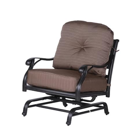 Havenside Home South Ponto High Back Club Motion Chair with Cushion