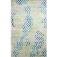 Vogue Green/Blue Area Rug