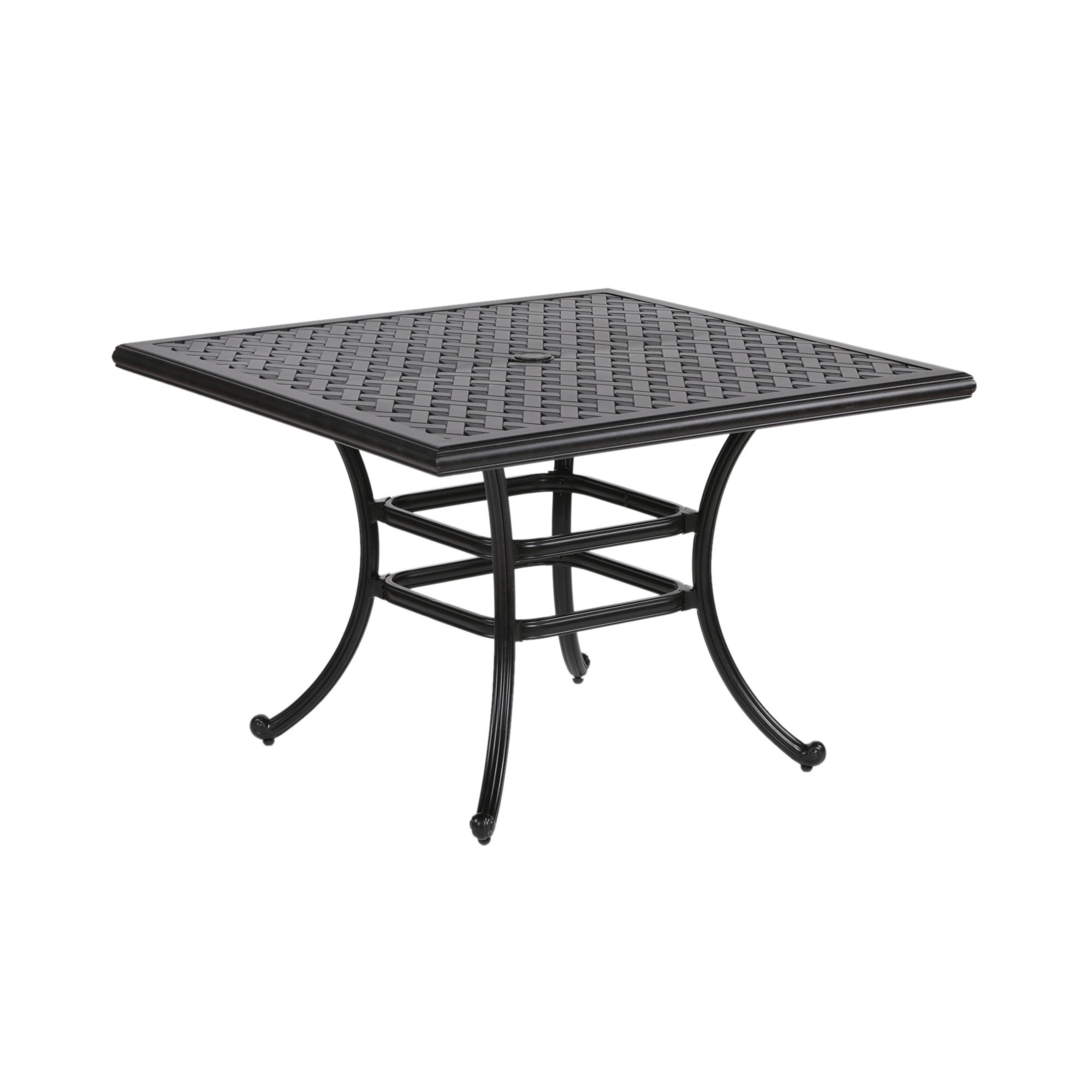 Shop Yorkshire Aluminum 44 Inch Square Dining Table