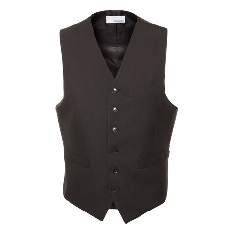 Ferrecci Mens Casual & Formal Fitted Dress Vest Waistcoat