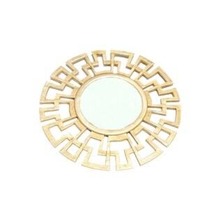 Safavieh Athena Grecian Antique Gold Mirror Free