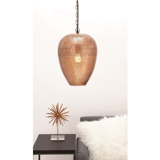 Urban Designs Copper Metal Hanging Pendant Light