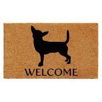 """Chihuahua Doormat (24"""" x 36"""")"""