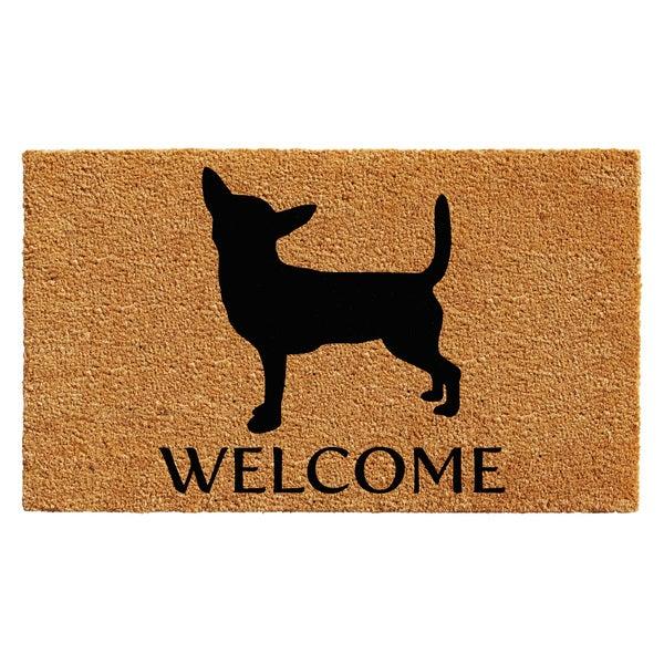 Shop Chihuahua Doormat 18 Quot X 30 Quot Free Shipping On