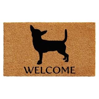"""Chihuahua Doormat (18"""" x 30"""")"""