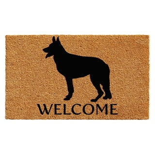 Shop German Shepherd Doormat 24 X 36 Free Shipping On