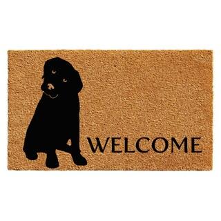 """Labrador Doormat (18"""" x 30"""")"""