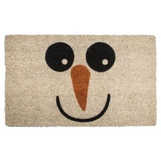 Snowman Non Slip Coir Doormat|https://ak1.ostkcdn.com/images/products/15862409/P22271519.jpg?impolicy=medium
