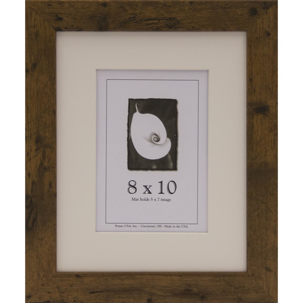 Rustic I Picture Frame 8x10 Free Shipping On Orders Over