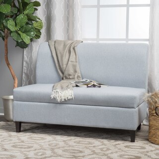 Tovah Fabric Storage Loveseat by Christopher Knight Home