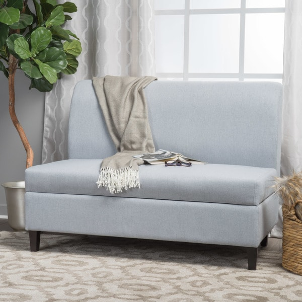 Tovah Fabric Storage Loveseat by Christopher Knight Home. Opens flyout.
