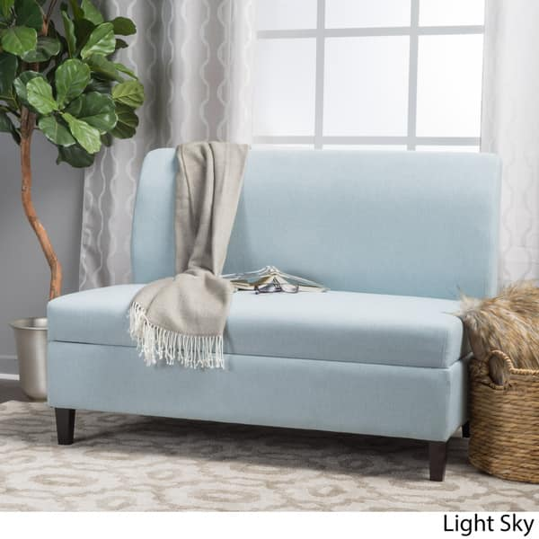 Cool Shop Tovah Fabric Storage Loveseat By Christopher Knight Beatyapartments Chair Design Images Beatyapartmentscom