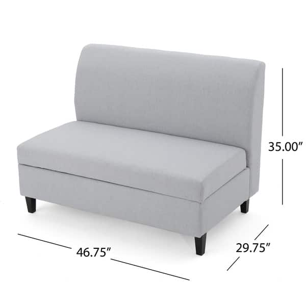 Admirable Shop Tovah Fabric Storage Loveseat By Christopher Knight Beatyapartments Chair Design Images Beatyapartmentscom