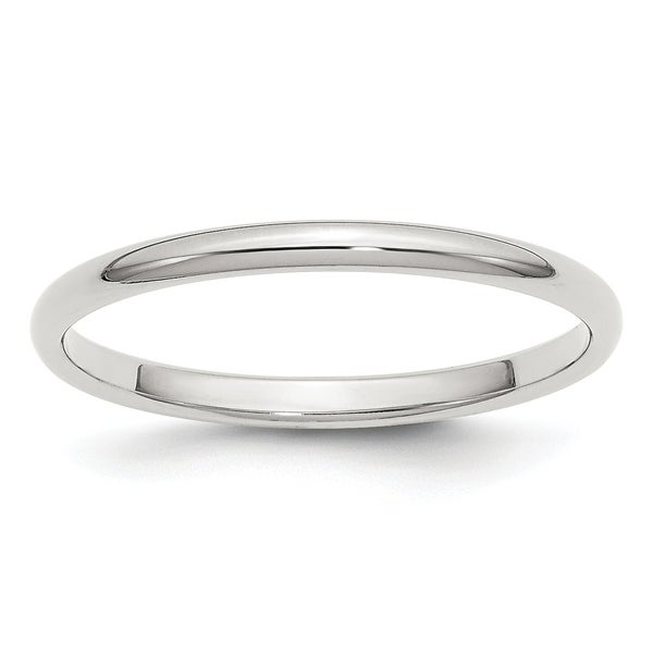 Jewelry & Watches .925 Sterling Silver 10 Mm Half-round Wedding Band Ring Buy One Get One Free