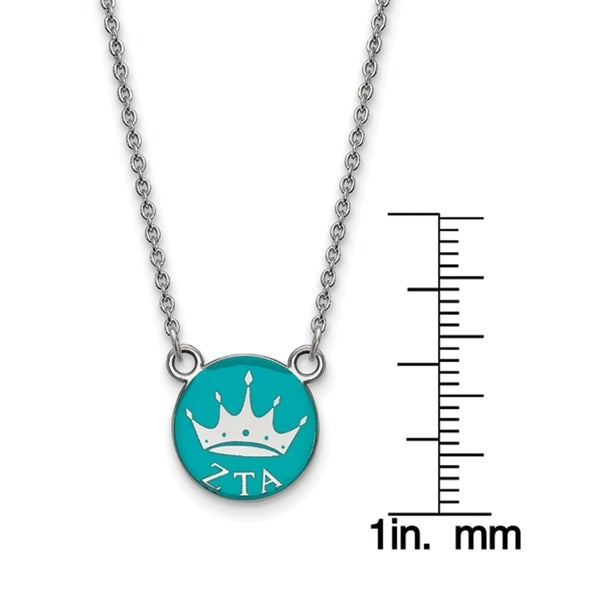 Sterling Silver Tau Cross Pendant 18 Chain