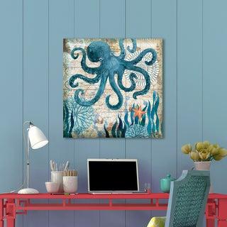 Portfolio Canvas Décor Monterey Bay Octopus by Geoff Allen Wrapped Canvas Wall Art