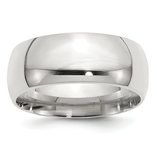 Versil Sterling Silver 9mm Comfort Fit Band