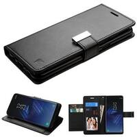 Insten Leatherette Case Cover with Stand/ Wallet Flap Pouch/ Photo Display For Samsung Galaxy S8 Plus S8+