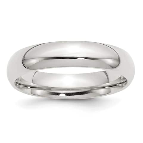 Sterling Silver 5mm Comfort Fit Band by Versil