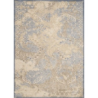 "Antique Patina Dulce Light Blue Runner Rug (1'11"" X 7' 2"") - 2' x 7'2"