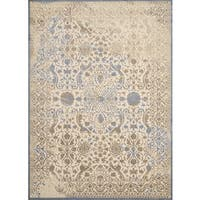 "Antique Patina Amara Taupe Runner Rug - 1'11"" X 7' 2"""