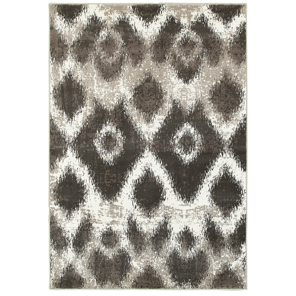 "L and R Home Adana Light Beige and Brown Indoor Accent Rug (1'10"" x 3'1"") - 1'10 x 3'1"