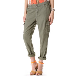 J Brand Croft Olive Green Easy Cargo Pants