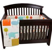 Cotton Tale Scribbles Jungle 4-piece Crib Bedding Set
