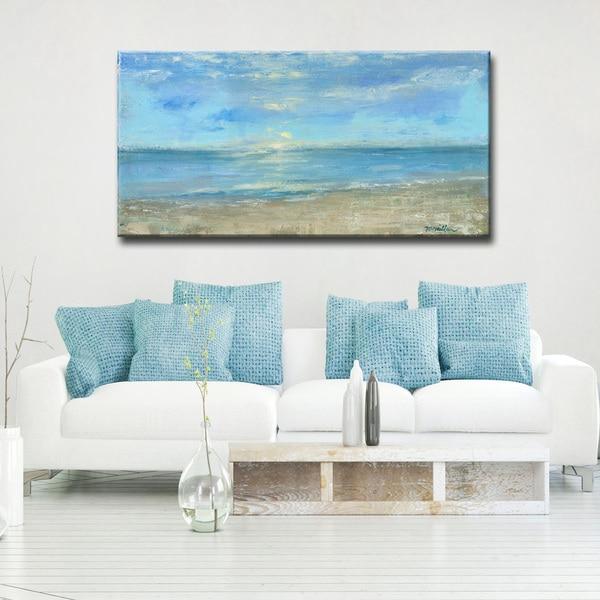 'Morning View' Ready2HangArt Canvas by Dana McMillan