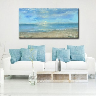 'Morning View' Ready2HangArt Canvas by Dana McMillan