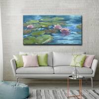 'Green Water' Ready2HangArt Canvas by Dana McMillan