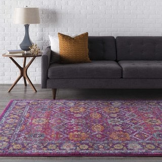 Henley Updated Traditional Pink Rug (3'11 x 5'7)