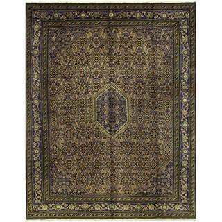 Handmade One-of-a-Kind Kashan Wool Rug (Iran) - 9'2 x 11'9