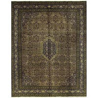 Herat Oriental Persian Hand-knotted Kashan Wool Rug (9'2 x 11'9)