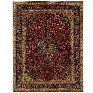 Handmade One-of-a-Kind Kashmar Wool Rug (Iran) - 9'9 x 12'10