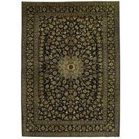 Handmade Herat Oriental Persian Kashan Wool Rug - 10'3 x 14'3 (Iran)