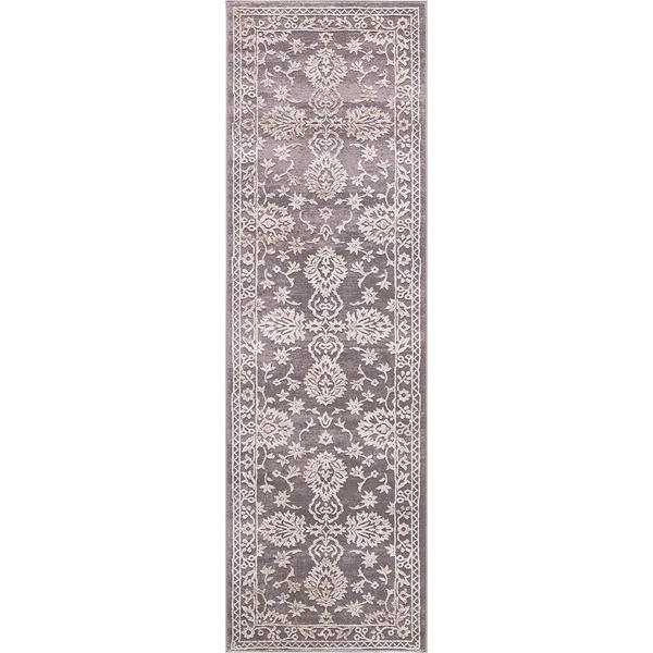 """Concord Global Thema Annette Beige Rug - 2'3"""" x 7'3"""""""
