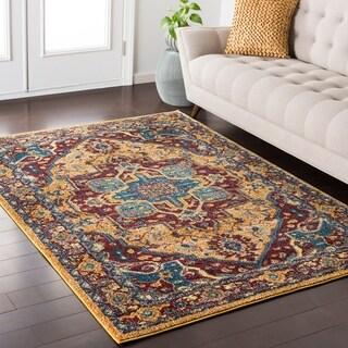 Haute-Hali Persian Oriental Rich-Wheat Rug (5'3 x 7'3)