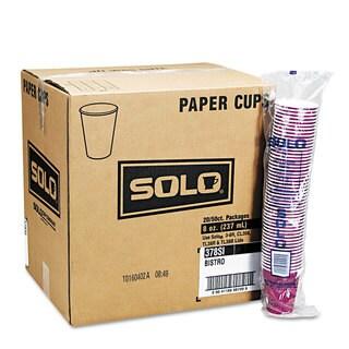 SOLO Bistro Design 12-oz Hot Drink Cups (Case of 1,000)