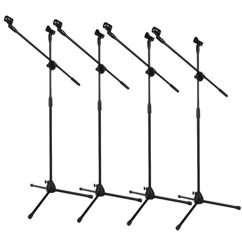 360° Rotating Microphone Stand Tripod (Box of 4)